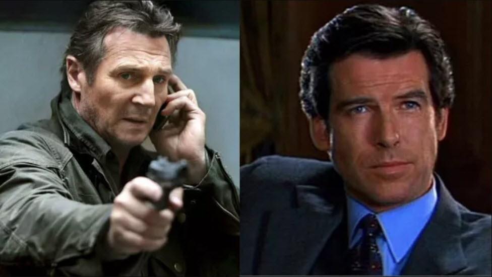 Liam Neeson mohl být James Bond