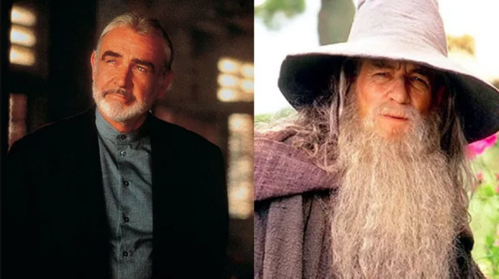 Sean Connery mohl být Gandalf