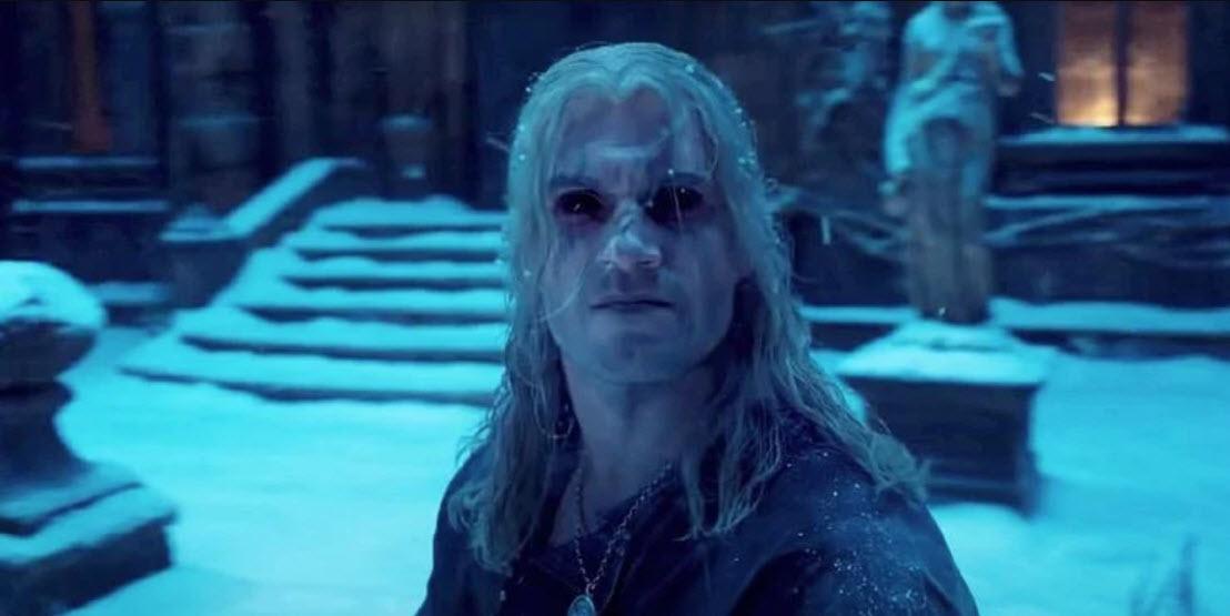 Geralt nadopovaný lektvary
