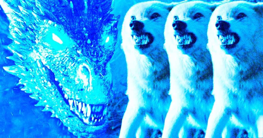 8. řada GoT málem obsahovala souboj zlovlků s drakem Nočního krále