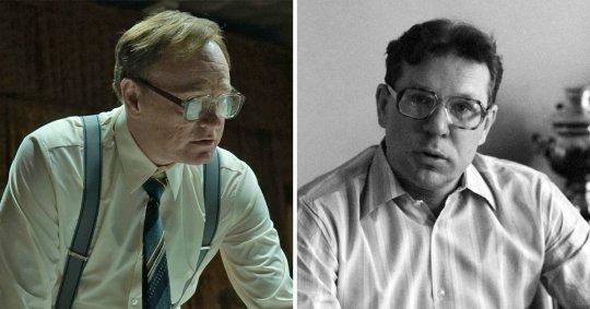 Valerij Legasov a Boris Ščerbina