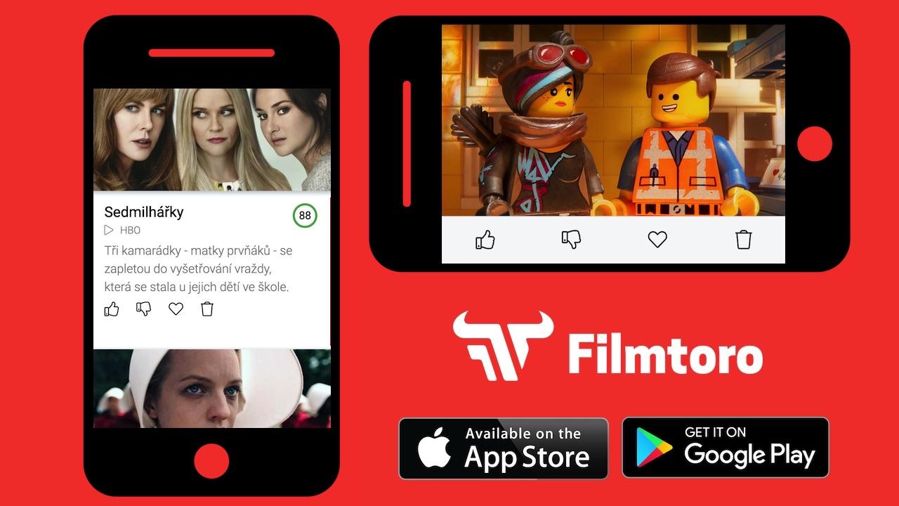 Filmtoro appka je ve finále AppParade a představuje čtyři novinky