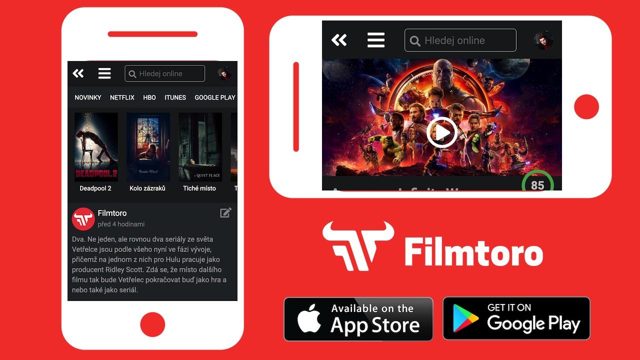 Vyzkoušej první verzi mobilní aplikace Filmtoro pro Android a iOS