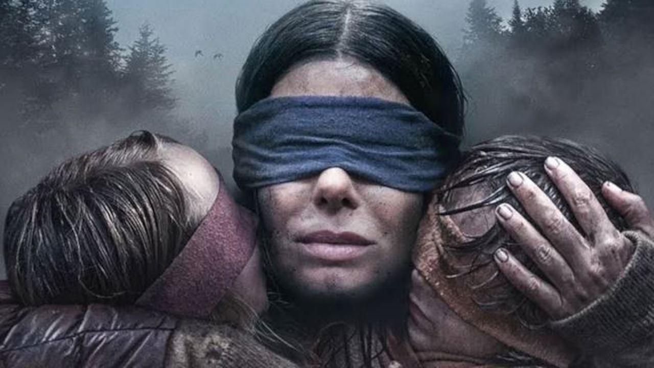RECENZE: Sandra Bullock prchá před monstry v megahitu Bird Box