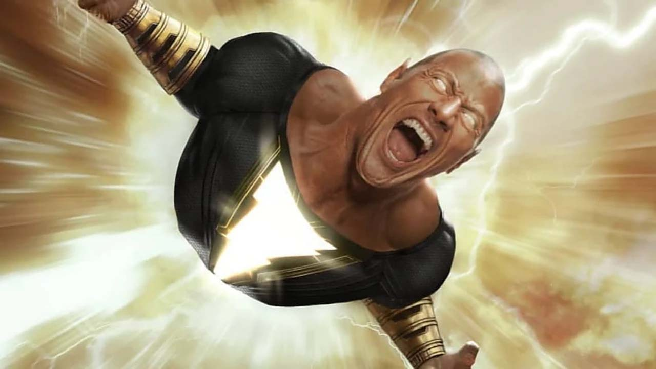Borec, který seřeže i Supermana. The Rock ukázal teaser z Black Adama