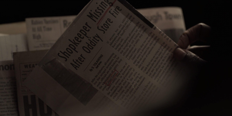 Novinové výstřižky