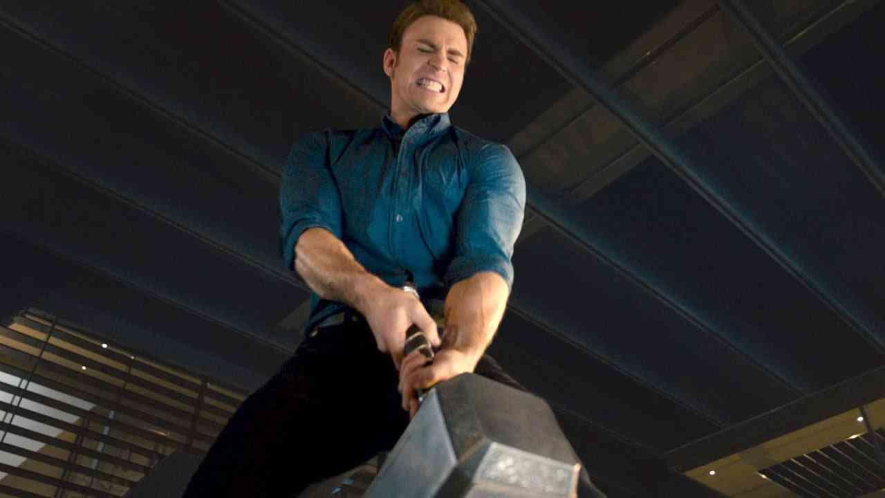 Captain America zvedne Mjolnir?