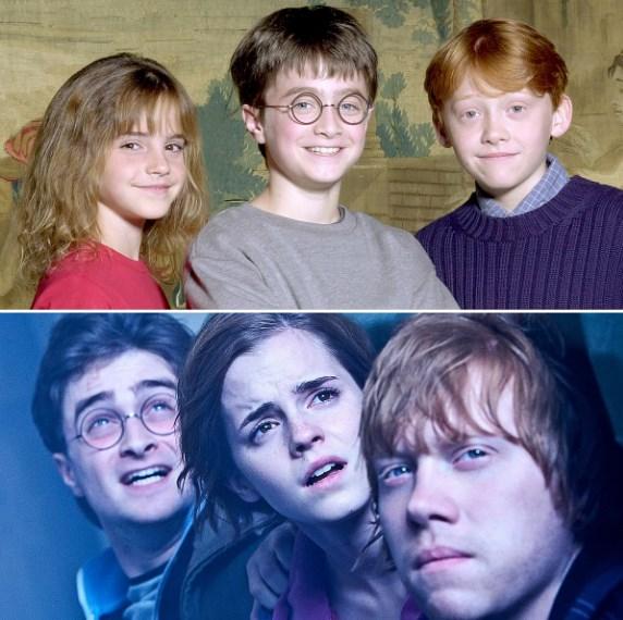 Herci z Harryho Pottera