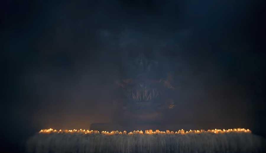 Balerion, Černý děs