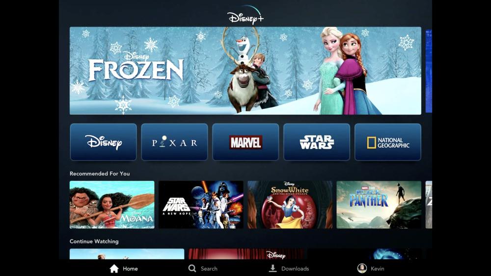 Které filmy a seriály na službě Disney+ budou?