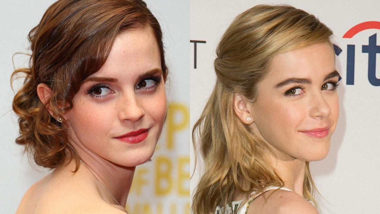 Emma Watson a Kiernan Shipka