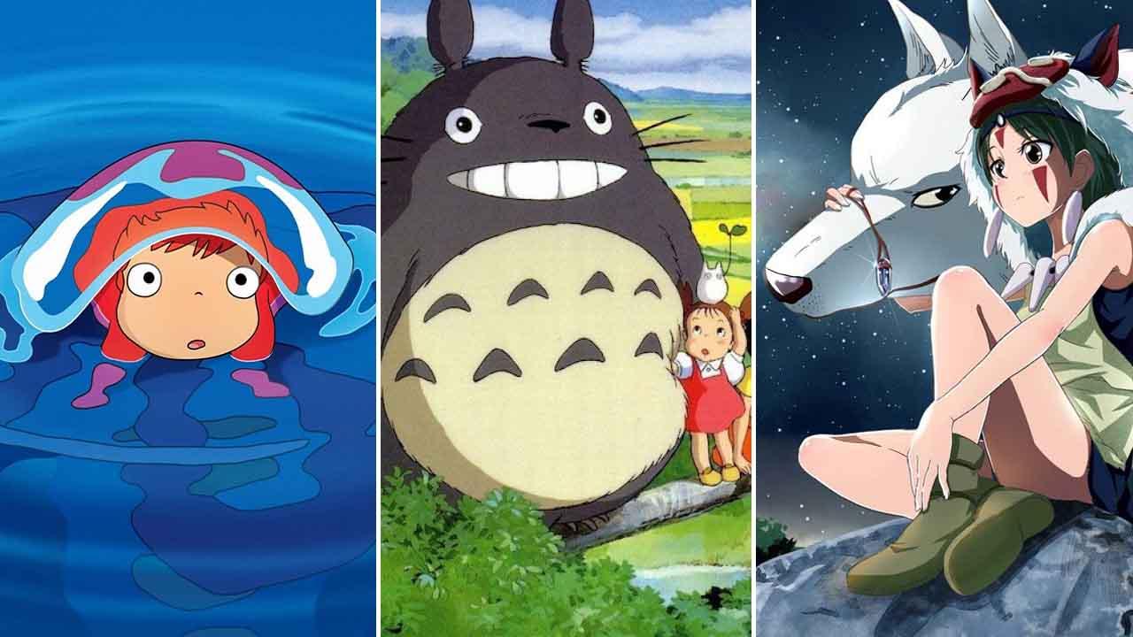 Hotovo! Legendární animované filmy od Ghibli jsou všechny na Netflixu