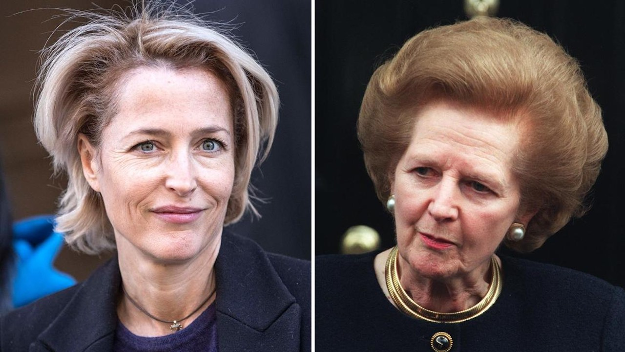 Gillian Anderson ztvární Margaret Thatcher ve čtvrté řadě seriálu The Crown
