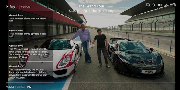 Jak si pustit The Grand Tour na Amazon Prime