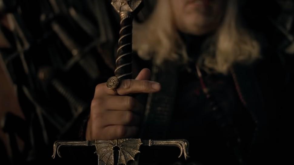 Král Viserys a meč Blackfyre