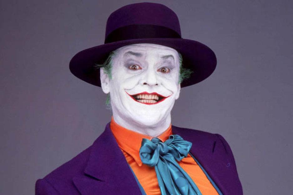 Jack Nicholson v maskérně pravidelně spal