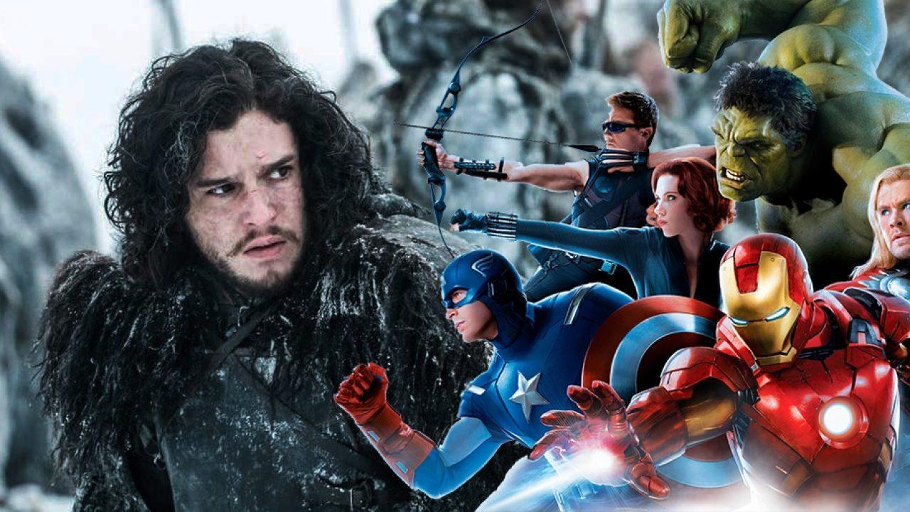 Jon Snow vstupuje do MCU a Marvel s Disney+ potvrdili další seriály