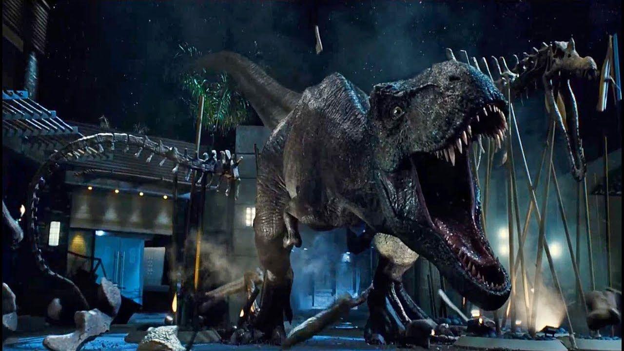 T-Rex vs. Indominus Rex (Jurský svět, 2015)