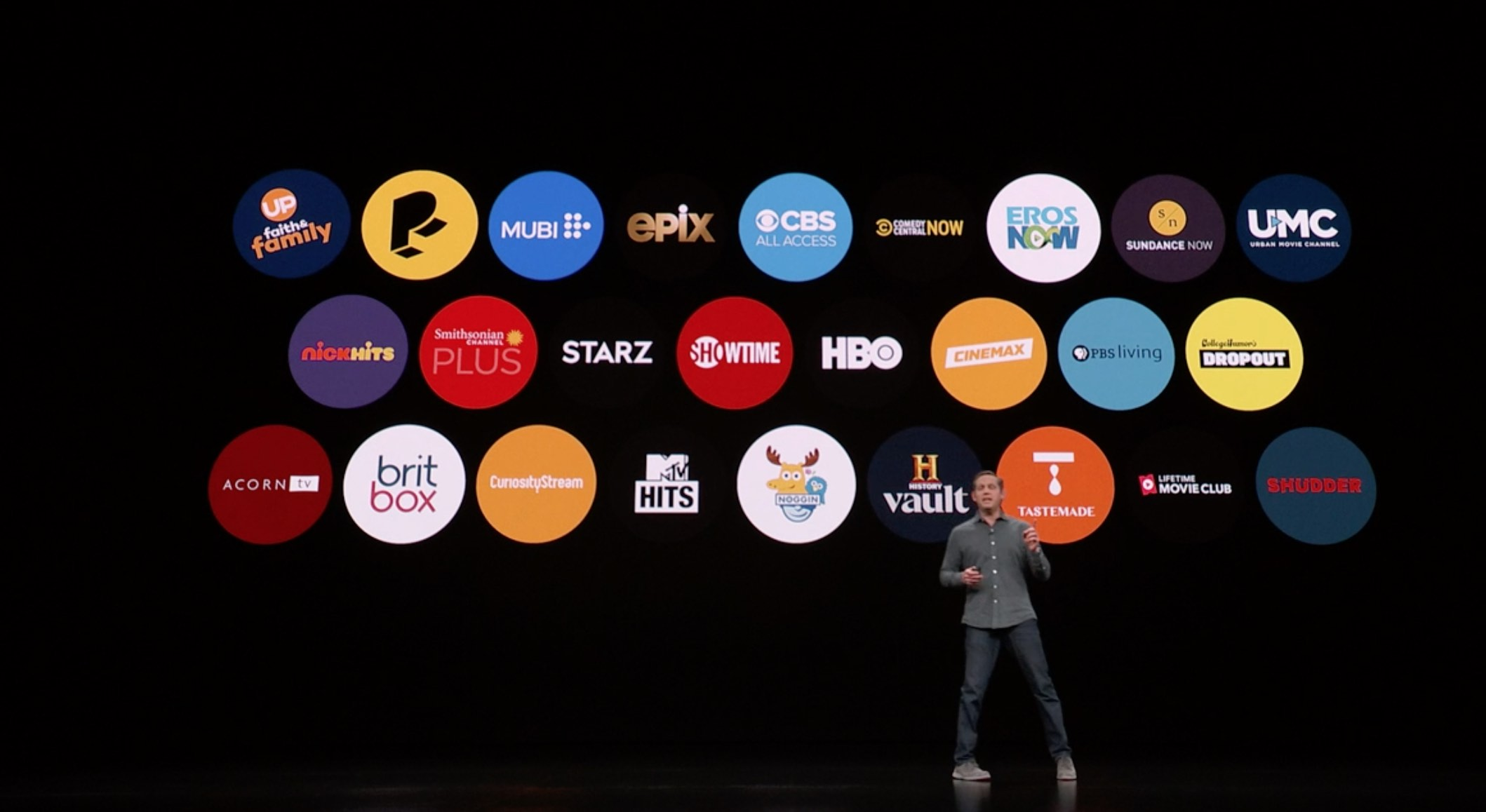 Co znamená služba Apple TV Channels?