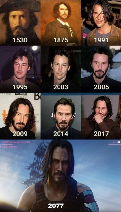 Keanu Reeves sa objaví ako popredná postava v očakávanej videohre