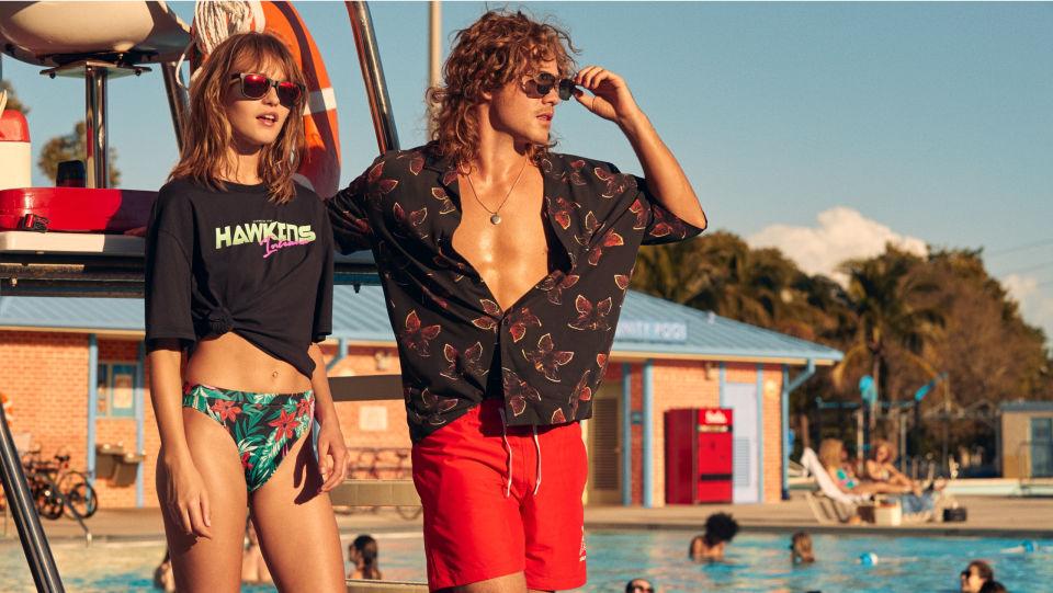H&M letní kolekce Stranger Things