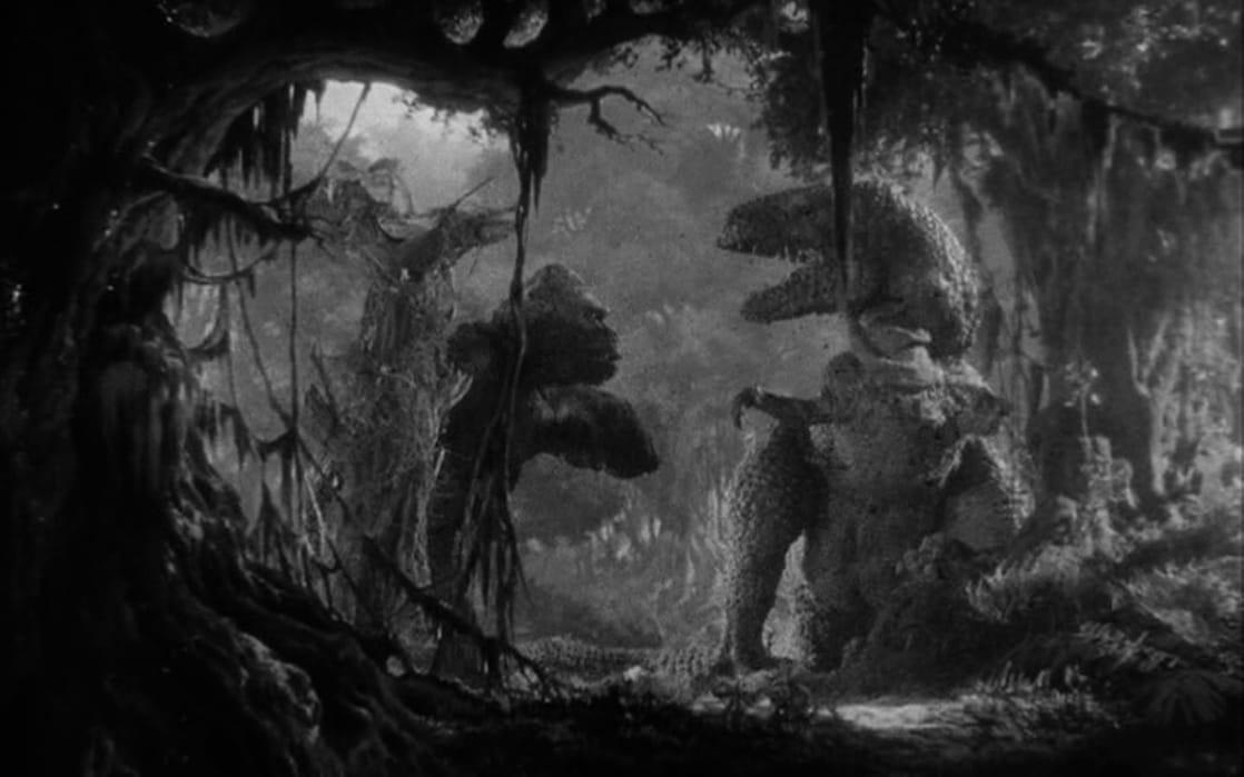 King Kong vs. T-Rex (King Kong, 1932)