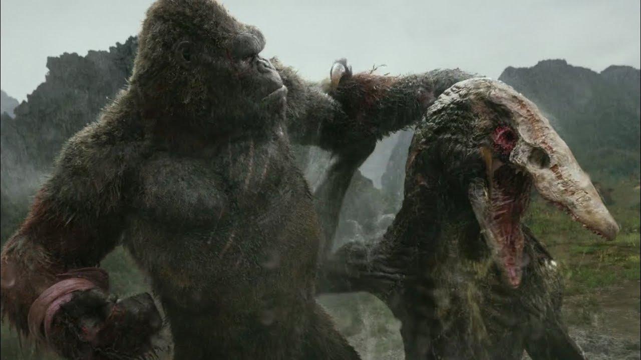 Kong vs. král lebkolezců (Kong: Ostrov lebek, 2017)