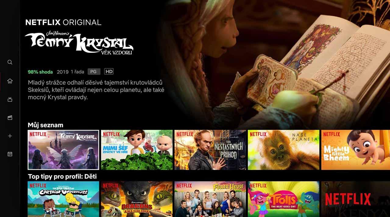 Český Netflix sa dostáva do konečnej podoby