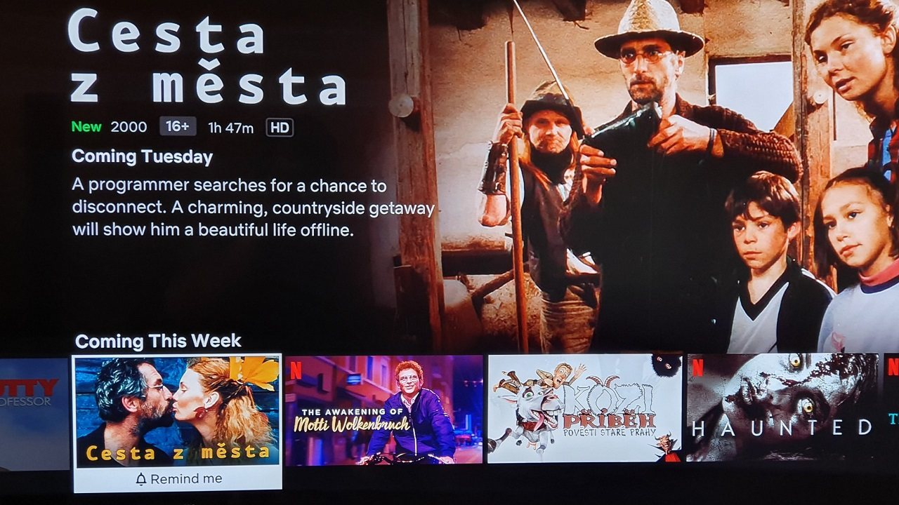 Netflix možná oznámil, kdy spustí lokalizaci, první CZ filmy dorazí v úterý