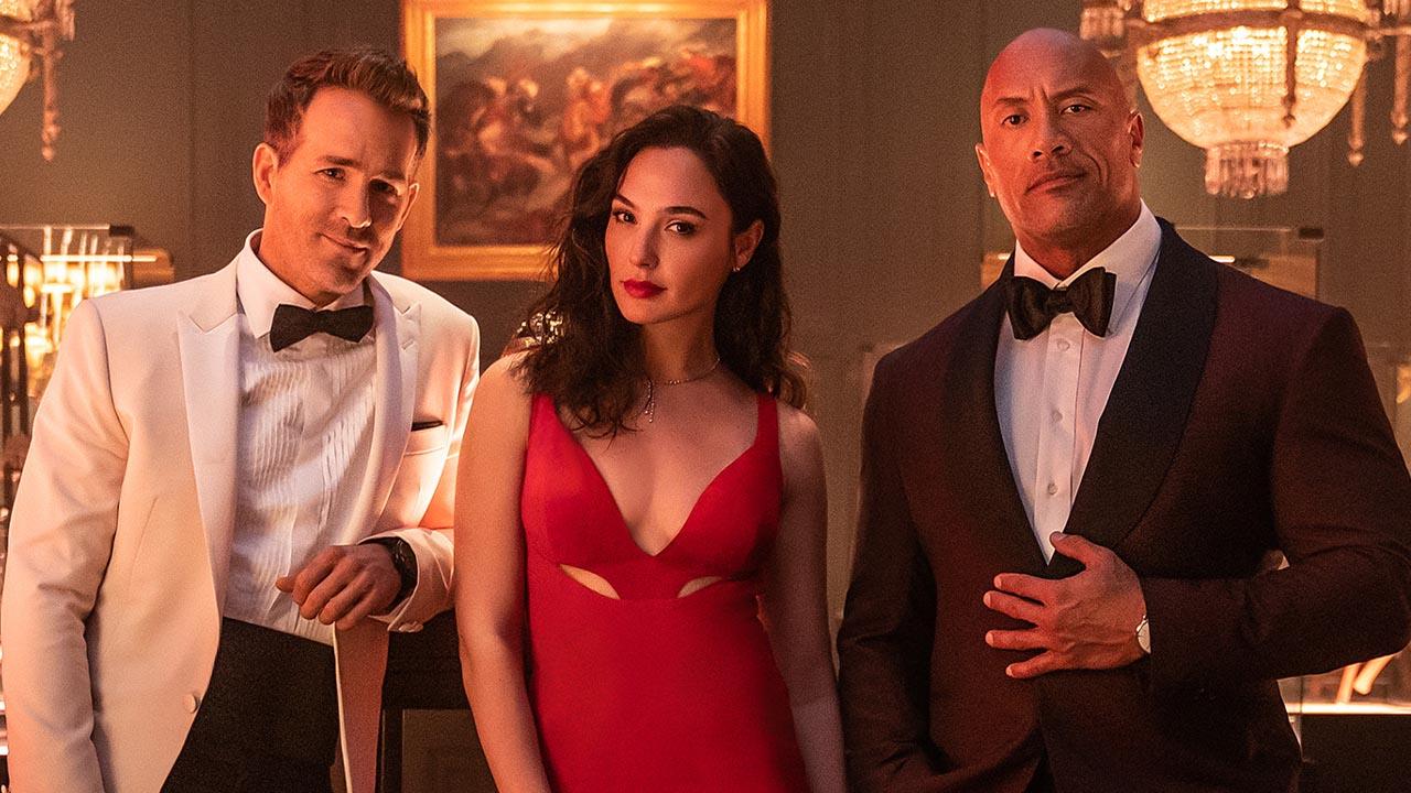 Red Notice: Velkolepý akčňák Netflixu s Rockem má nařvaný první trailer