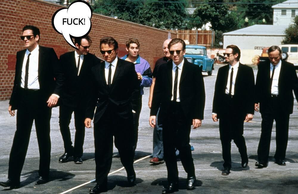 V Tarantinových filmoch sa nadáva. A nadáva sa veľa