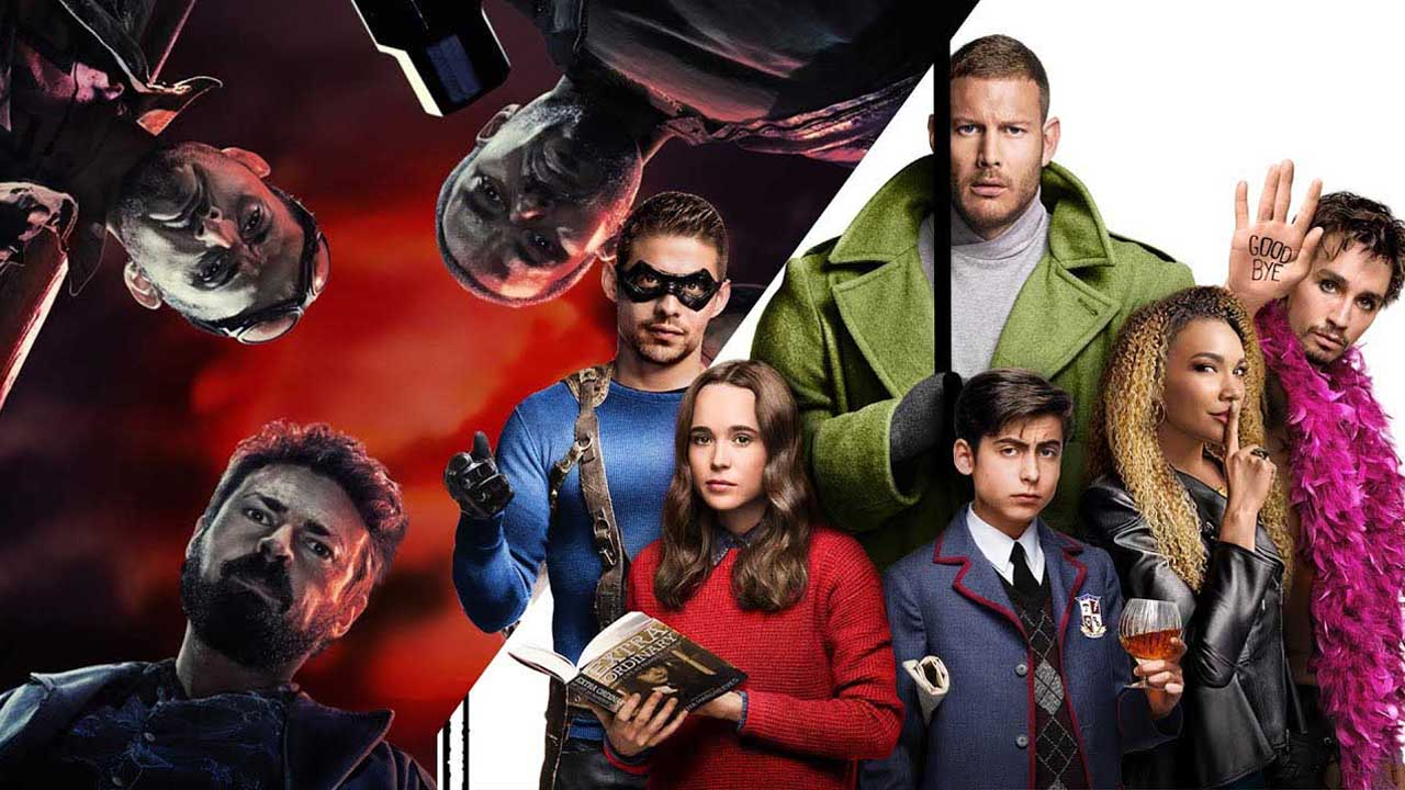 Netflix a Amazon ukázali parádní ukázky Umbrella Academy a The Boys