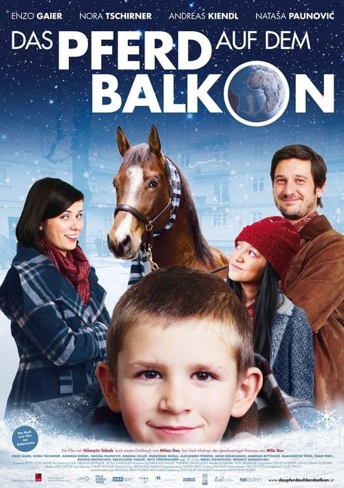 Kůň na balkóně online