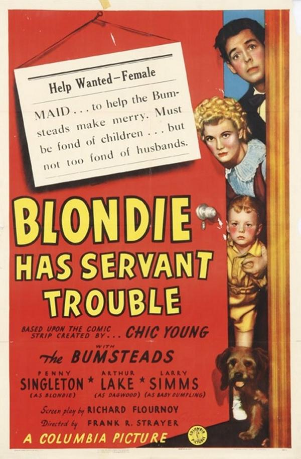Blondie Has Servant Trouble online