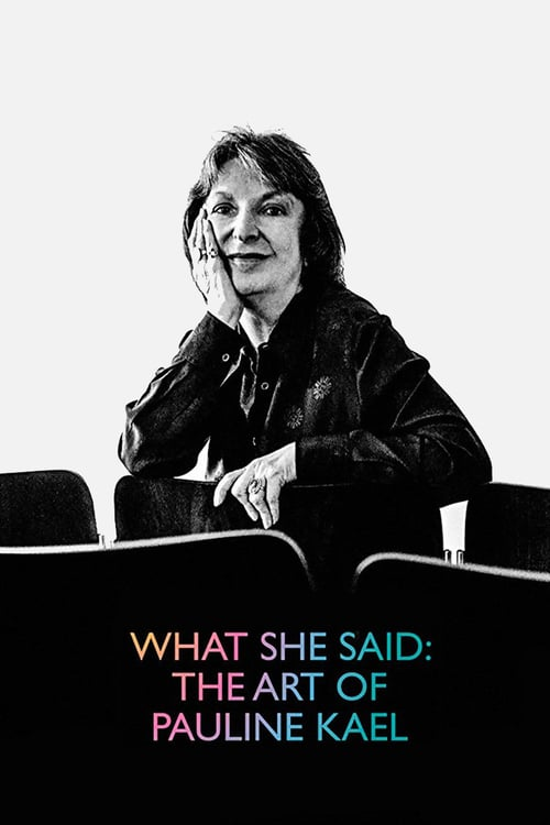 What She Said: The Art of Pauline Kael online