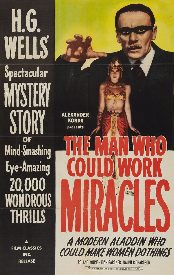 The Man Who Could Work Miracles online