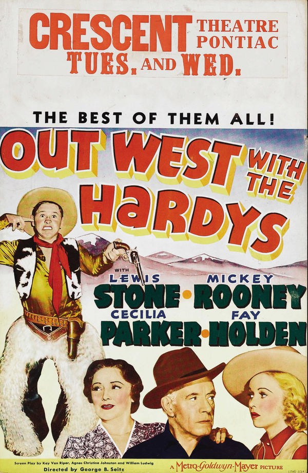 Out West With The Hardys online