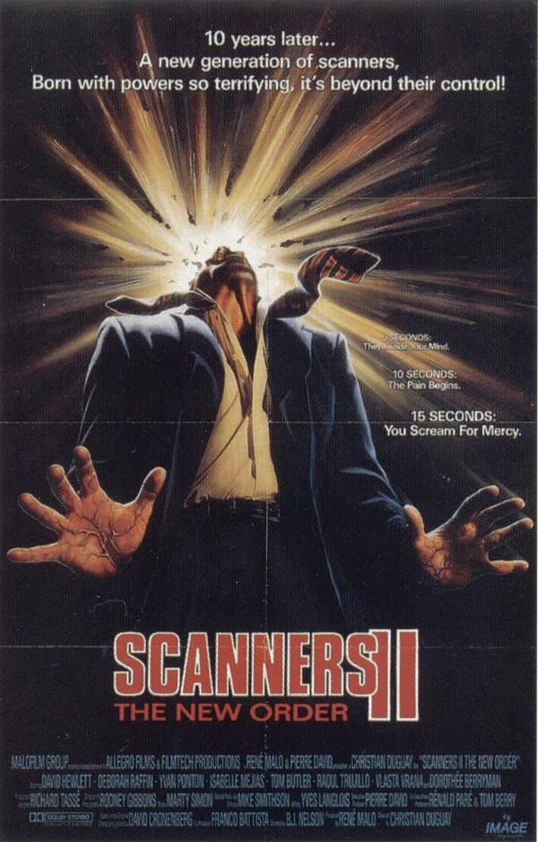 Scanners II: The New Order online