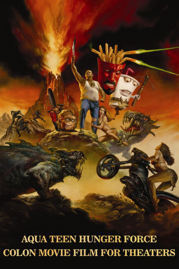 Aqua Teen Hunger Force Colon Movie Film for Theaters online