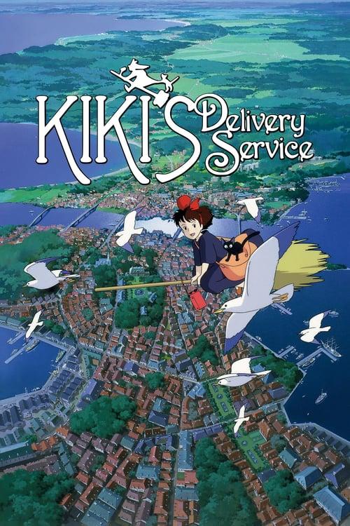 Doručovací služba čarodějky Kiki online