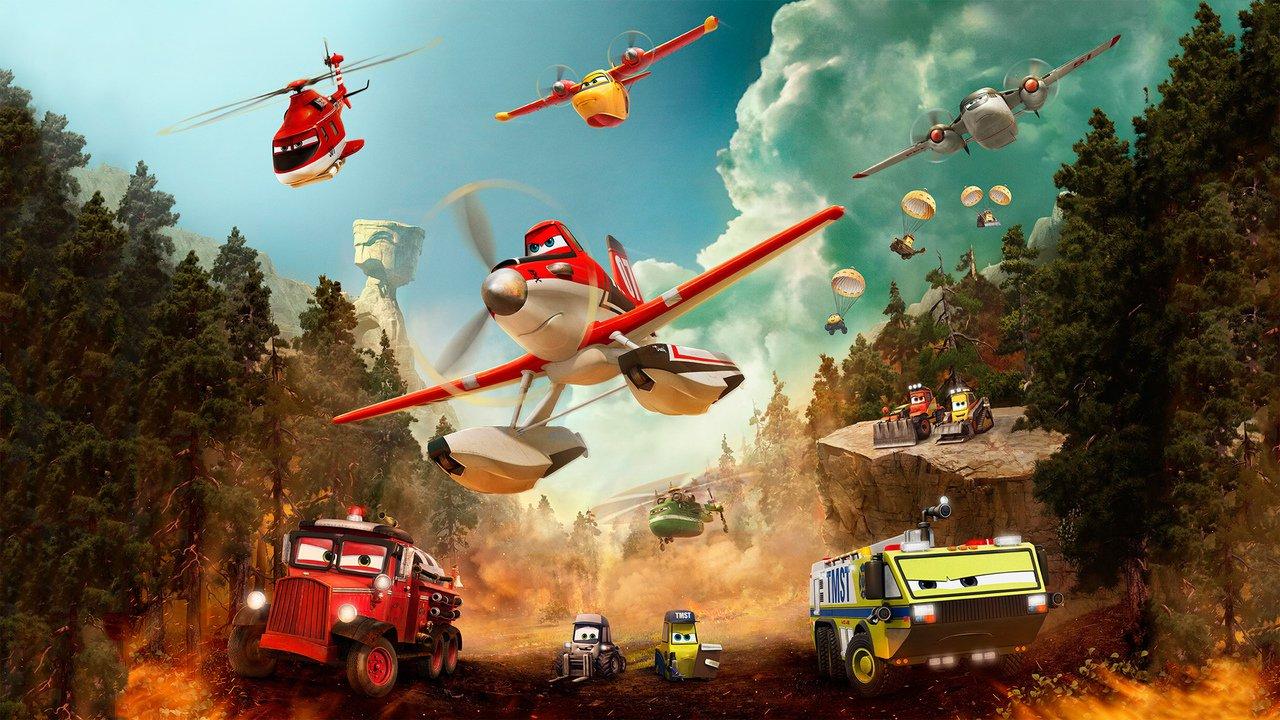 Letadla 2: Hasiči a záchranáři online