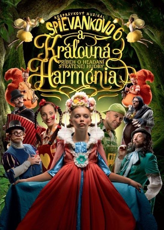 Spievankovo a kralovna Harmonia online