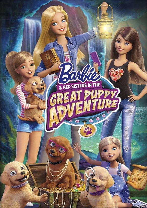 Barbie: Psí dobrodružství online
