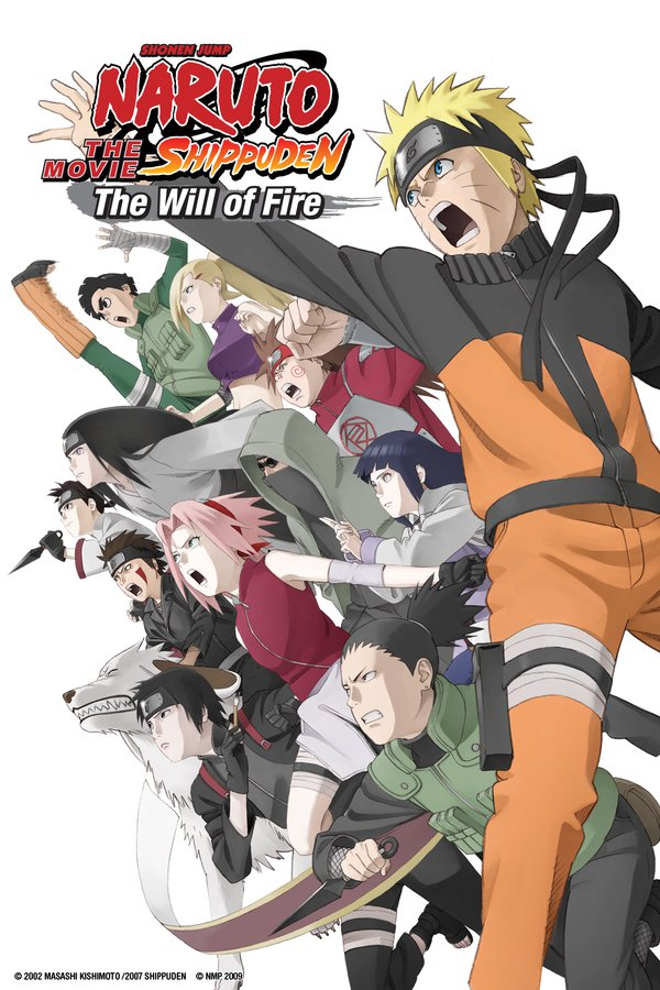Naruto Shippuden the Movie: The Will of Fire online