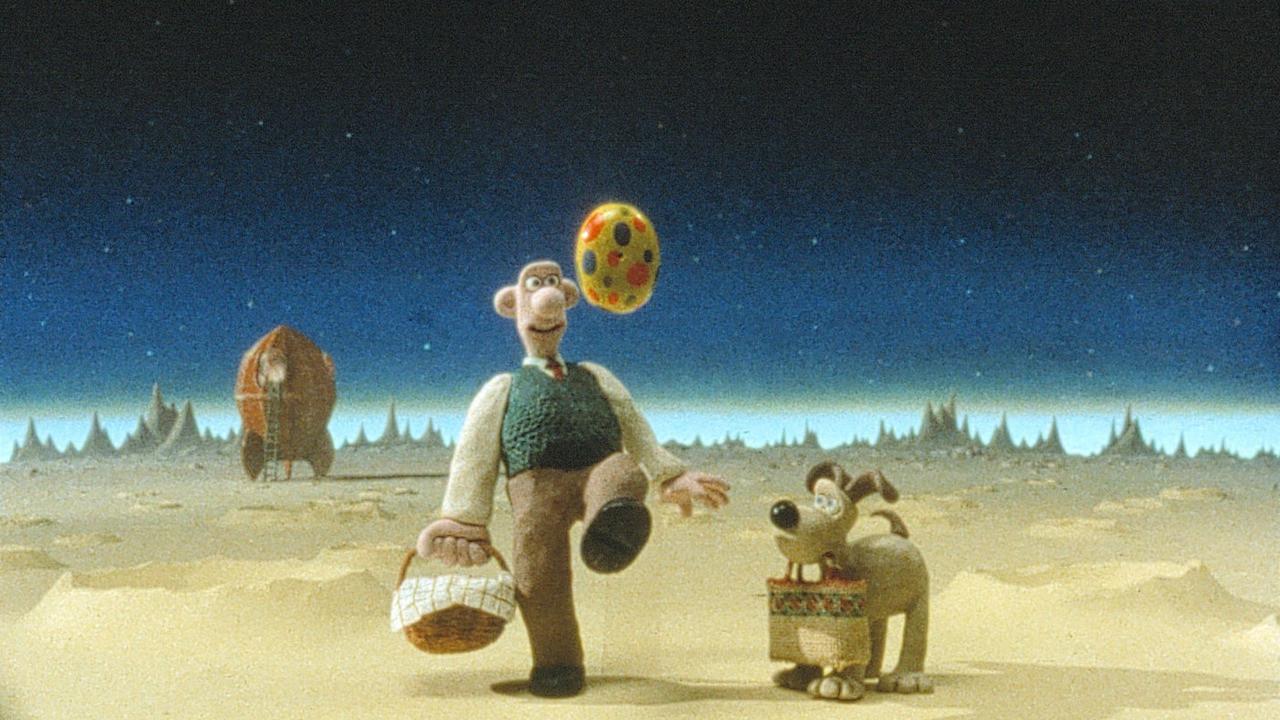 Wallace a Gromit: Cesta na Měsíc online