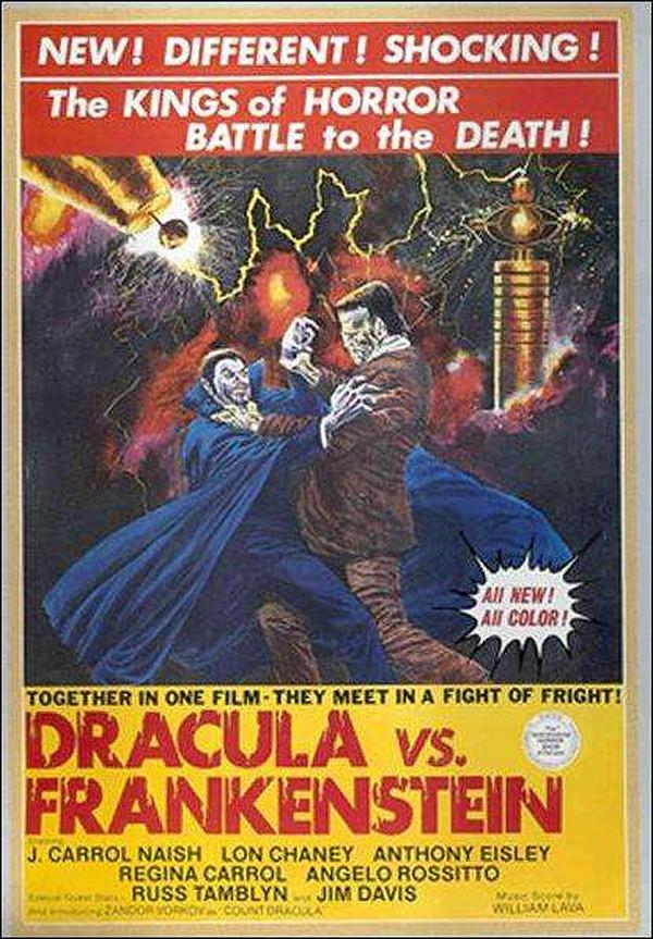 Dracula vs. Frankenstein online