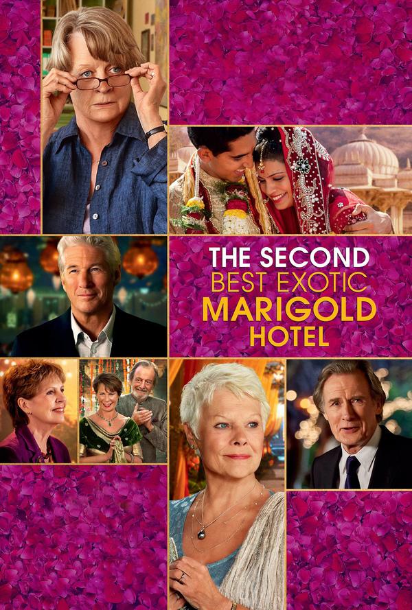 Druhý báječný hotel Marigold online