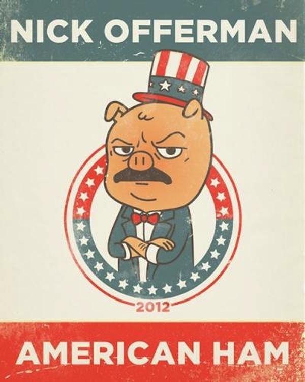 Nick Offerman: American Ham online
