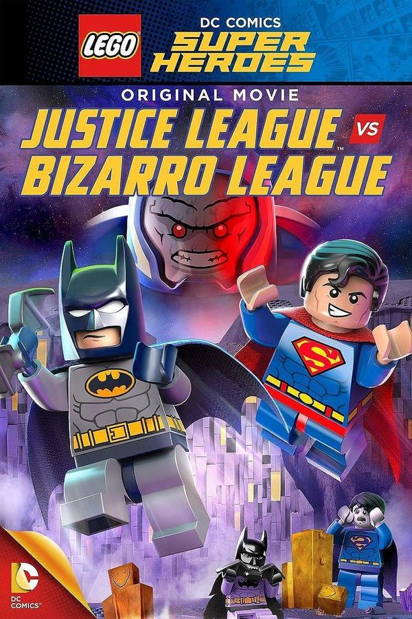 Lego: DC - Liga spravedlivých vs Bizarro online