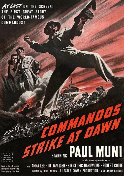 Commandos Strike At Dawn online
